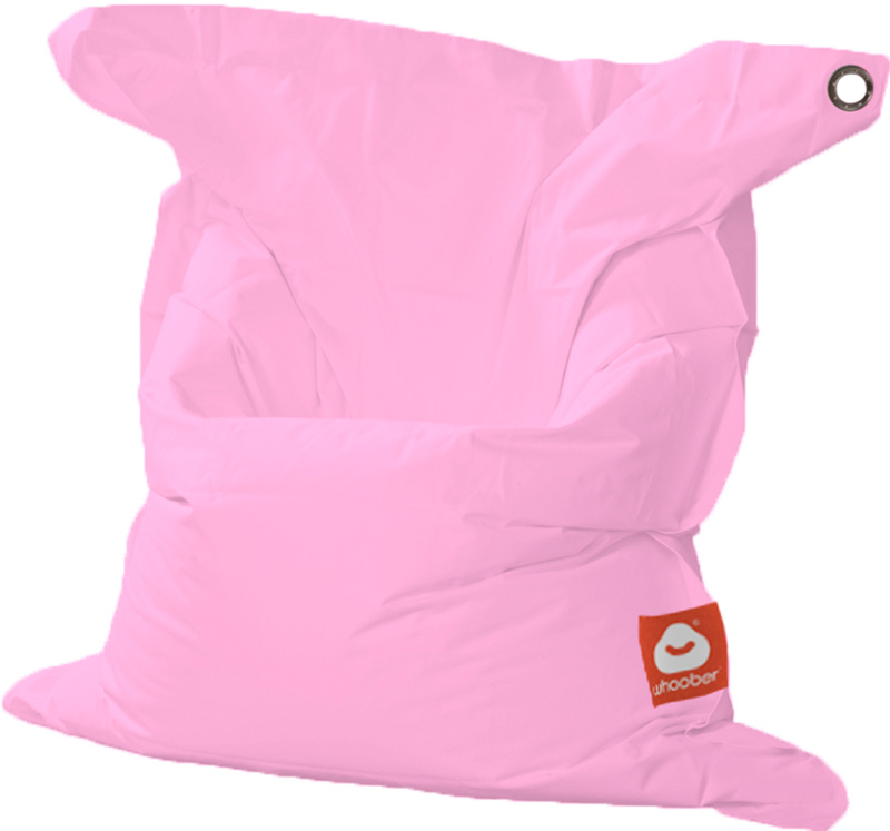 <h3>Comfortabele roze rechthoekige Medium zitzak van Whoober-outdoor kwaliteit die in Nederland door Whoober wordt geproduceerd. Gratis verzending en binnen enkele werkdagen in huis!</h3><h2>Belangrijkste eigenschappen van&nbsp;de St. Tropez Medium</h2><u