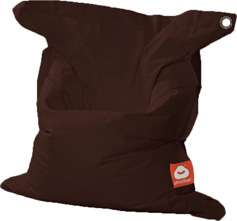 <h3>Comfortabele donker bruine rechthoekige Medium zitzak van Whoober-outdoor kwaliteit die in Nederland door Whoober wordt geproduceerd. Gratis verzending en binnen enkele werkdagen in huis!</h3><h2>Belangrijkste eigenschappen van&nbsp;de St. Tropez Medi
