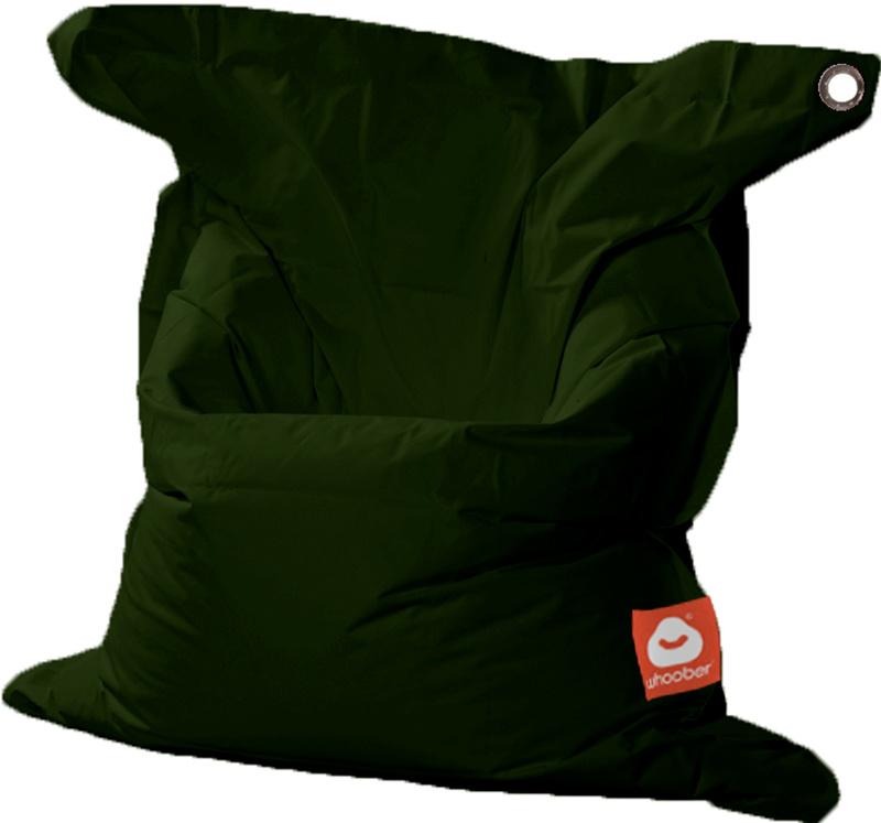 <h3>Comfortabele leger groene rechthoekige Medium zitzak van Whoober-outdoor kwaliteit die in Nederland door Whoober wordt geproduceerd. Gratis verzending en binnen enkele werkdagen in huis!</h3><h2>Belangrijkste eigenschappen van&nbsp;de St. Tropez Mediu