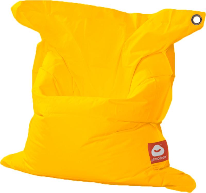 <h3>Comfortabele gele rechthoekige Medium zitzak van Whoober-outdoor kwaliteit die in Nederland door Whoober wordt geproduceerd. Gratis verzending en binnen enkele werkdagen in huis!</h3><h2>Belangrijkste eigenschappen van&nbsp;de St. Tropez Medium</h2><u