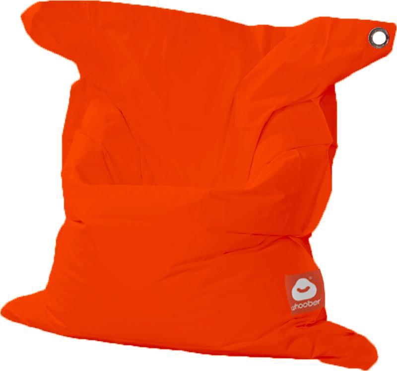 <h3>Comfortabele donker oranje rechthoekige Medium zitzak van Whoober-outdoor kwaliteit die in Nederland door Whoober wordt geproduceerd. Gratis verzending en binnen enkele werkdagen in huis!</h3><h2>Belangrijkste eigenschappen van&nbsp;de St. Tropez Medi