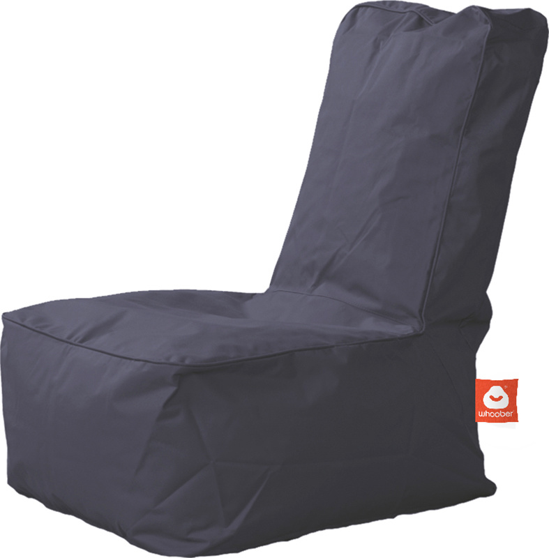 <h3>Comfortabele antraciet kinderzitzak van Whoober-outdoor kwaliteit die in Nederland door Whoober wordt geproduceerd. Gratis verzending en binnen enkele werkdagen in huis!</h3><h2>Belangrijkste eigenschappen van&nbsp;de Fiji</h2><ul><li>Ook voor de zake