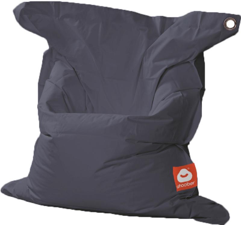 <h3>Comfortabele antraciet rechthoekige Medium zitzak van Whoober-outdoor kwaliteit die in Nederland door Whoober wordt geproduceerd. Gratis verzending en binnen enkele werkdagen in huis!</h3><h2>Belangrijkste eigenschappen van&nbsp;de St. Tropez Medium</