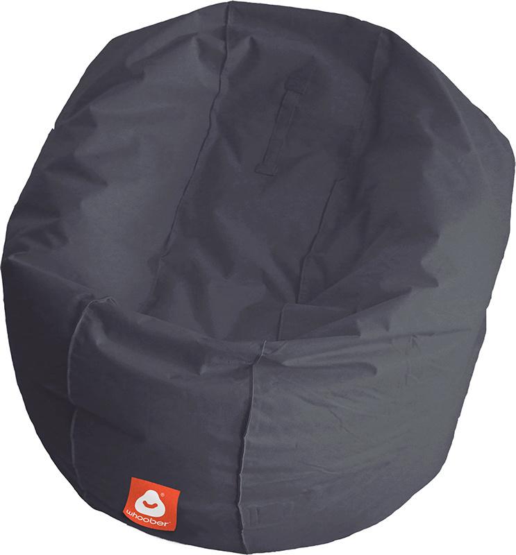 <h3>Comfortabele antraciet ronde zitzak van Whoober-outdoor kwaliteit die in Nederland door Whoober wordt geproduceerd. Gratis verzending en binnen enkele werkdagen in huis!</h3><h2>Belangrijkste eigenschappen vande Ibiza Large</h2><ul><li>Ook voor de za