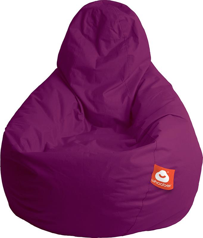 <h3>Comfortabele paarse peervorm-zitzak van Whoober-outdoor kwaliteit die in Nederland door Whoober wordt geproduceerd. Gratis verzending en binnen enkele werkdagen in huis!</h3><h2>Belangrijkste eigenschappen van&nbsp;de Barca</h2><ul><li>Ook voor de zak