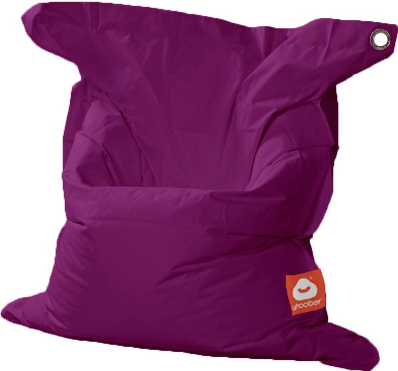 <h3>Comfortabele paarse rechthoekige Medium zitzak van Whoober-outdoor kwaliteit die in Nederland door Whoober wordt geproduceerd. Gratis verzending en binnen enkele werkdagen in huis!</h3><h2>Belangrijkste eigenschappen van&nbsp;de St. Tropez Medium</h2>