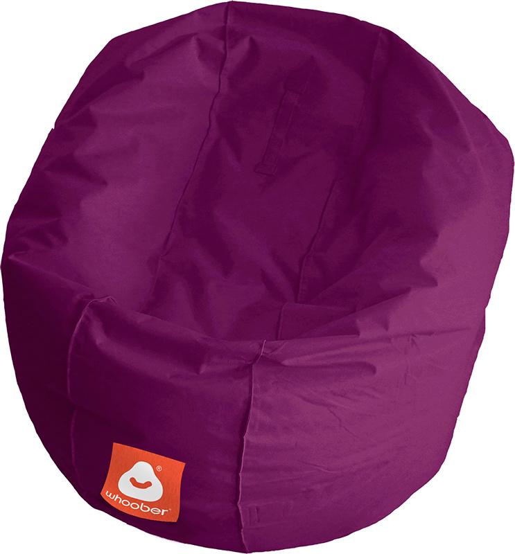 <h3>Comfortabele paarse ronde zitzak van Whoober-outdoor kwaliteit die in Nederland door Whoober wordt geproduceerd. Gratis verzending en binnen enkele werkdagen in huis!</h3><strong>Belangrijkste eigenschappen van&nbsp;de Ibiza Medium</strong><ul><li>Ook