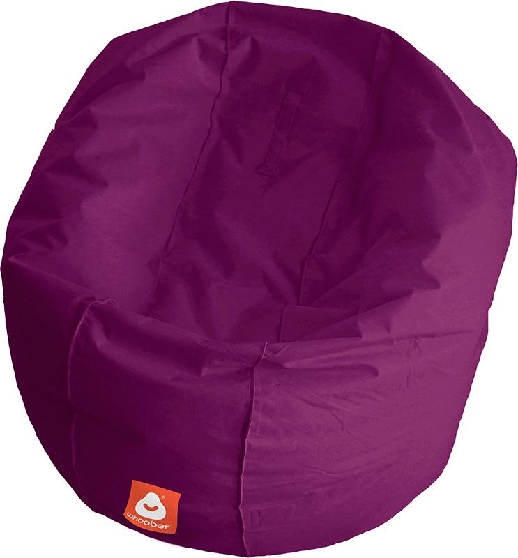<h3>Comfortabele paarse ronde zitzak van Whoober-outdoor kwaliteit die in Nederland door Whoober wordt geproduceerd. Gratis verzending en binnen enkele werkdagen in huis!</h3><h2>Belangrijkste eigenschappen van&nbsp;de Ibiza Large</h2><ul><li>Ook voor de
