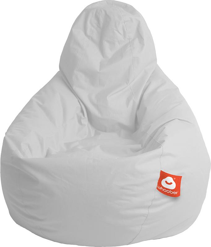 <h3>Comfortabele licht grijze peervorm-zitzak van Whoober-outdoor kwaliteit die in Nederland door Whoober wordt geproduceerd. Gratis verzending en binnen enkele werkdagen in huis!</h3><h2>Belangrijkste eigenschappen van&nbsp;de Barca</h2><ul><li>Ook voor