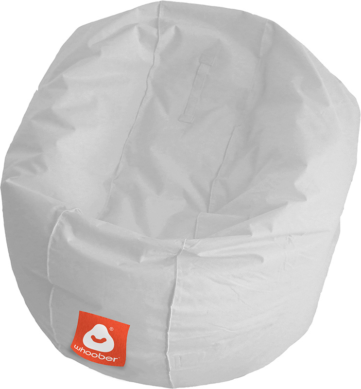 <h3>Comfortabele licht grijze ronde zitzak van Whoober-outdoor kwaliteit die in Nederland door Whoober wordt geproduceerd. Gratis verzending en binnen enkele werkdagen in huis!</h3><strong>Belangrijkste eigenschappen van&nbsp;de Ibiza Medium</strong><ul><