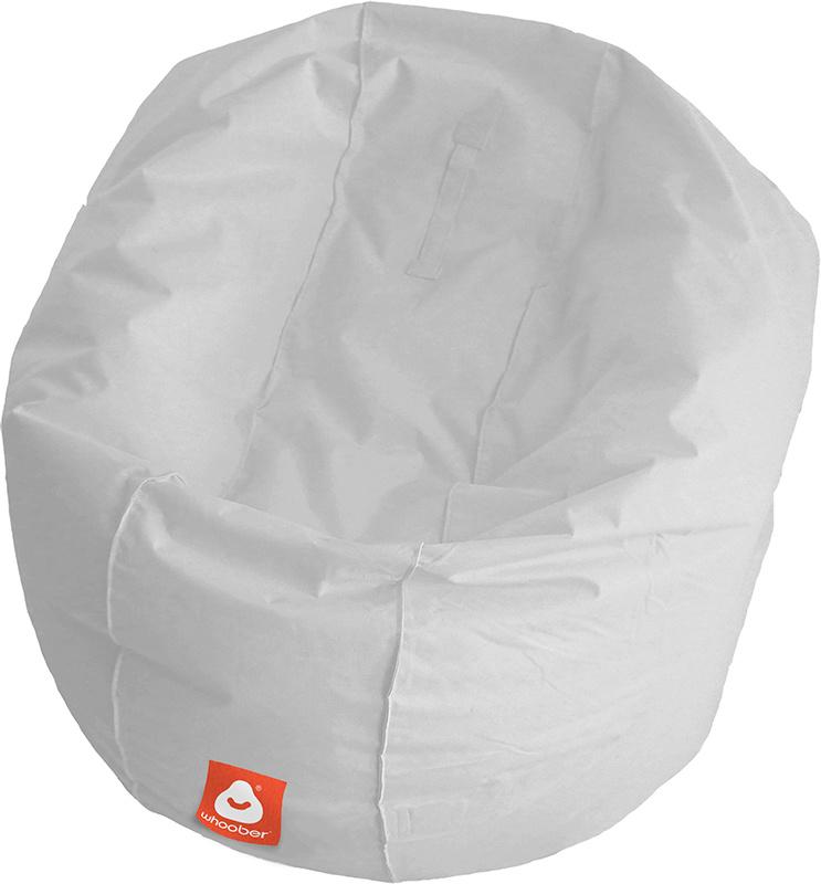 <h3>Comfortabele licht grijze ronde zitzak van Whoober-outdoor kwaliteit die in Nederland door Whoober wordt geproduceerd. Gratis verzending en binnen enkele werkdagen in huis!</h3><h2>Belangrijkste eigenschappen van&nbsp;de Ibiza Large</h2><ul><li>Ook vo