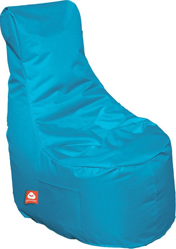 <h3>Comfortabele turquoise stoelvormige zitzak van Whoober-outdoor kwaliteit die in Nederland door Whoober wordt geproduceerd. Gratis verzending en binnen enkele werkdagen in huis!</h3><h3>Belangrijkste eigenschappen van&nbsp;de Nice</h3><ul><li>Ook voor