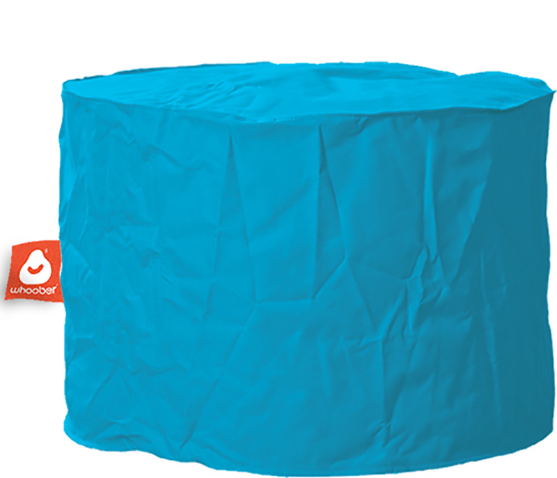<h3>Comfortabele &amp; multifunctionele turquoise poef van Whoober-outdoor kwaliteit die in Nederland door Whoober wordt geproduceerd. Gratis verzending en binnen enkele werkdagen in huis!</h3><h2>Belangrijkste eigenschappen van&nbsp;de Rhodos</h2><ul><li