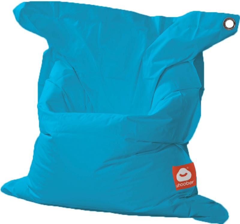 <h3>Comfortabele turquoise rechthoekige Medium zitzak van Whoober-outdoor kwaliteit die in Nederland door Whoober wordt geproduceerd. Gratis verzending en binnen enkele werkdagen in huis!</h3><h2>Belangrijkste eigenschappen van&nbsp;de St. Tropez Medium</