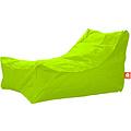 """Whoober Whoober Lounge stoel zitzak """"Bali"""" outdoor limoen groen - Wasbaar - Geschikt voor buiten"""