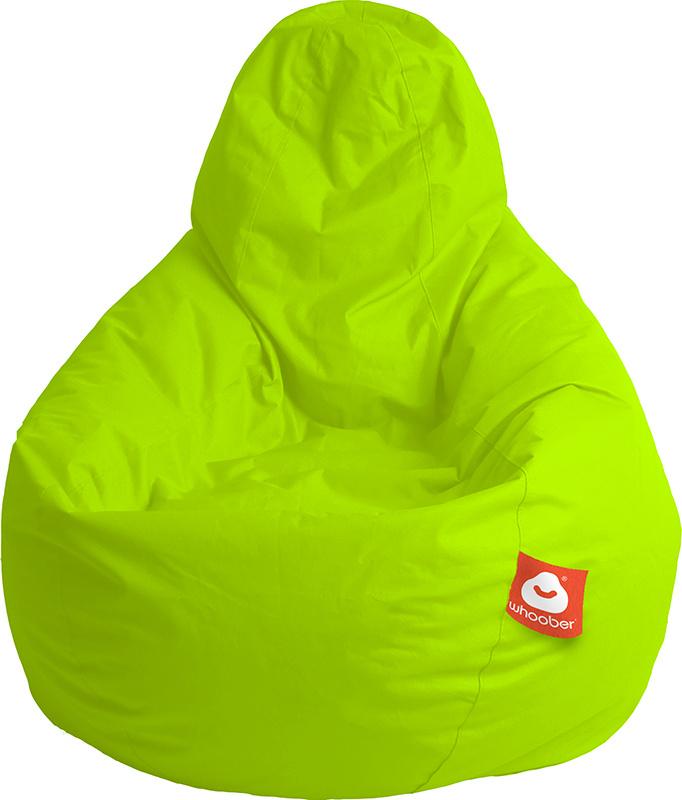 <h3>Comfortabele limoen groene peervorm-zitzak van Whoober-outdoor kwaliteit die in Nederland door Whoober wordt geproduceerd. Gratis verzending en binnen enkele werkdagen in huis!</h3><h2>Belangrijkste eigenschappen van&nbsp;de Barca</h2><ul><li>Ook voor
