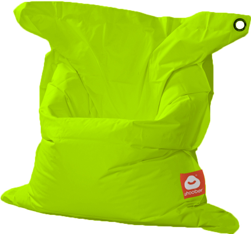 <h3>Comfortabele limoen groene rechthoekige Medium zitzak van Whoober-outdoor kwaliteit die in Nederland door Whoober wordt geproduceerd. Gratis verzending en binnen enkele werkdagen in huis!</h3><h2>Belangrijkste eigenschappen van&nbsp;de St. Tropez Medi