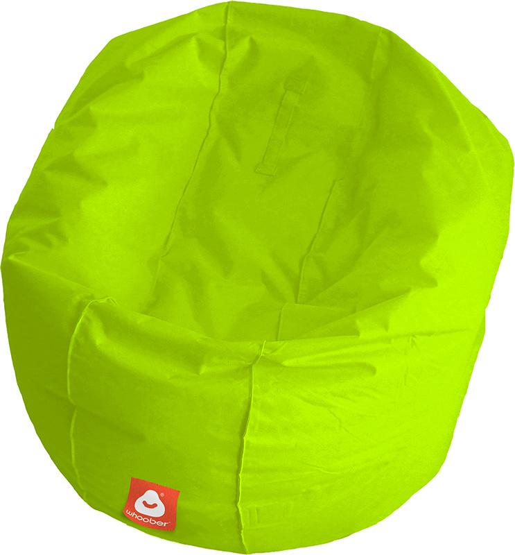 <h3>Comfortabele limoen groene ronde zitzak van Whoober-outdoor kwaliteit die in Nederland door Whoober wordt geproduceerd. Gratis verzending en binnen enkele werkdagen in huis!</h3><h2>Belangrijkste eigenschappen van&nbsp;de Ibiza Large</h2><ul><li>Ook v