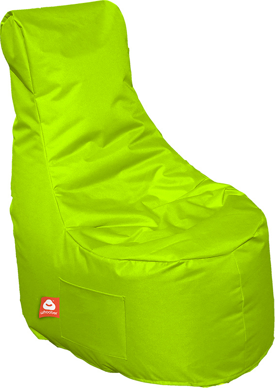 <h3>Comfortabele limoen groene stoelvormige zitzak van Whoober-outdoor kwaliteit die in Nederland door Whoober wordt geproduceerd. Gratis verzending en binnen enkele werkdagen in huis!</h3><h3>Belangrijkste eigenschappen van&nbsp;de Nice</h3><ul><li>Ook v