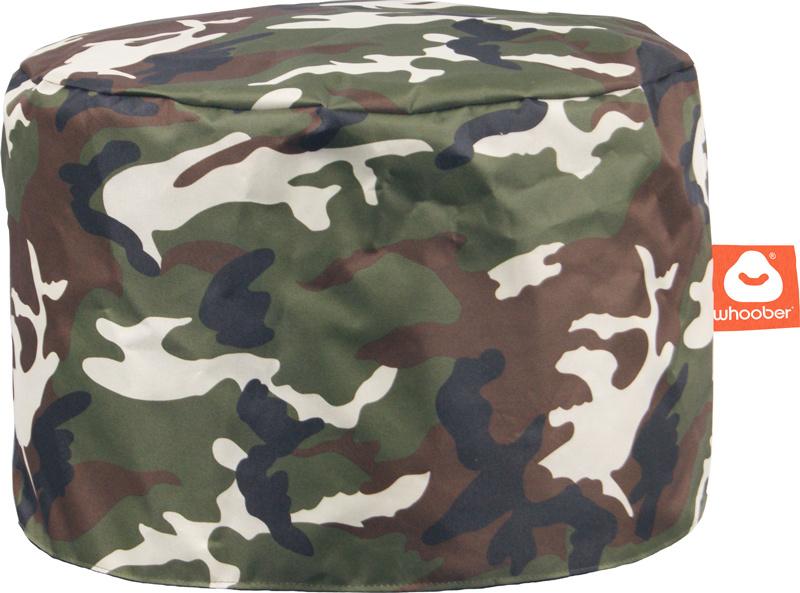 <h3>Comfortabele & multifunctionele camouflage poef van Whoober-outdoor kwaliteit die in Nederland door Whoober wordt geproduceerd. Gratis verzending en binnen enkele werkdagen in huis!</h3><h2>Belangrijkste eigenschappen vande Rhodos</h2><ul><li>Ook voo