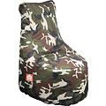 """Whoober Whoober Zitzak stoel """"Nice"""" outdoor camouflage - Wasbaar - Geschikt voor buiten"""