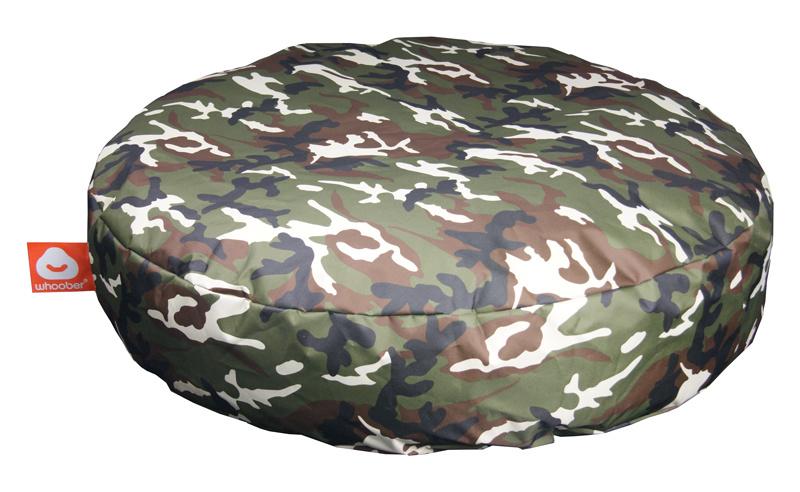 <h3>Comfortabele camouflage ronde zitzak van Whoober-outdoor kwaliteit die in Nederland door Whoober wordt geproduceerd. Gratis verzending en binnen enkele werkdagen in huis!</h3><strong>Belangrijkste eigenschappen vande Ibiza Medium</strong><ul><li>Ook