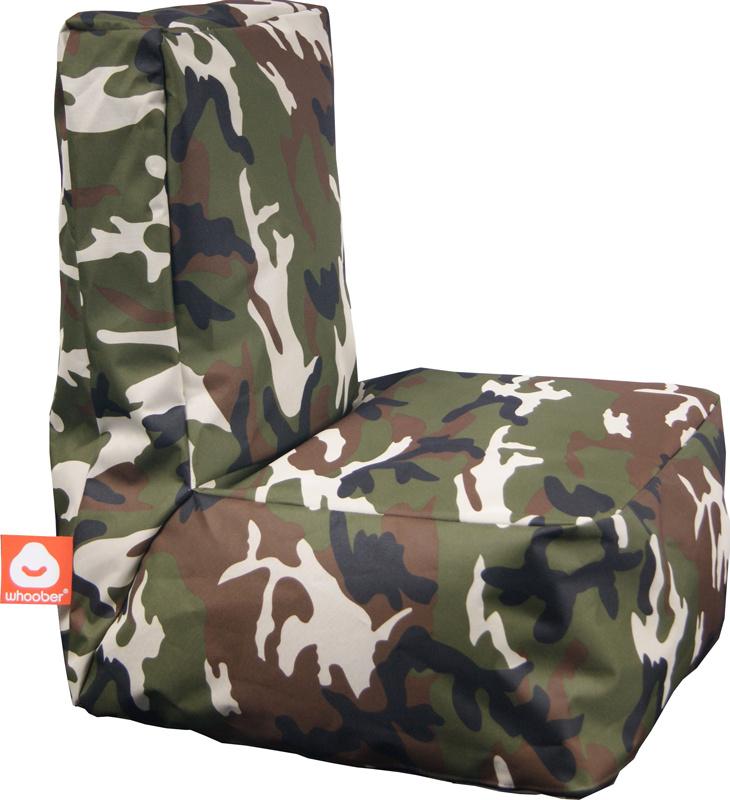 <h3>Comfortabele camouflage kinderzitzak van Whoober-outdoor kwaliteit die in Nederland door Whoober wordt geproduceerd. Gratis verzending en binnen enkele werkdagen in huis!</h3><h2>Belangrijkste eigenschappen vande Fiji</h2><ul><li>Ook voor de zakelijk