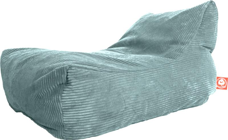 <h3>Comfortabele loungestoel zitzak in aqua blauwe ribcord die in Nederland door Whoober wordt geproduceerd. Gratis verzending en 1 jaar garantie!<br><br>Belangrijkste eigenschappen vande Bali</h3><ul><li>Ook voor de zakelijke markt dankzij wasbare buite