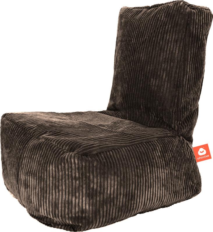 <h2>Comfortabele kinderzitzak in taupe ribcord die in Nederland door Whoober wordt geproduceerd. Gratis verzending en 1 jaar garantie!</h2><h2>Belangrijkste eigenschappen vande Fiji</h2><ul><li>Ook voor de zakelijke markt dankzij wasbare buitenhoes</li><