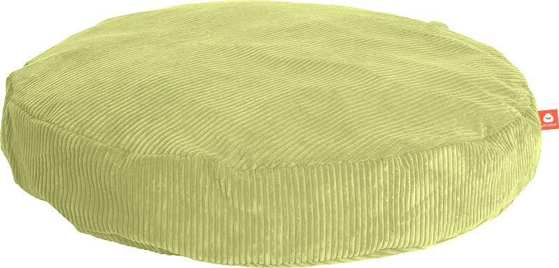 <h2>Comfortabele ronde zitzak in pistache ribcord die in Nederland door Whoober wordt geproduceerd. Gratis verzending en 1 jaar garantie!</h2><h2>Belangrijkste eigenschappen vande Ibiza Large</h2><ul><li>Ook voor de zakelijke markt dankzij wasbare buiten