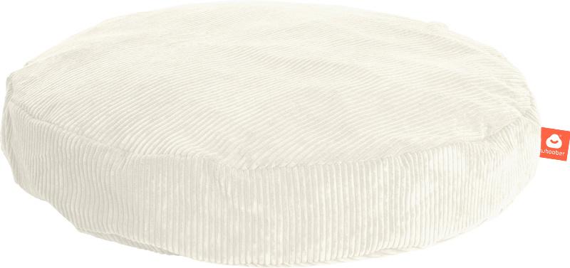 <h2>Comfortabele ronde zitzak in witte ribcord die in Nederland door Whoober wordt geproduceerd. Gratis verzending en 1 jaar garantie!</h2><h2>Belangrijkste eigenschappen vande Ibiza Medium</h2><ul><li>Ook voor de zakelijke markt dankzij wasbare buitenho