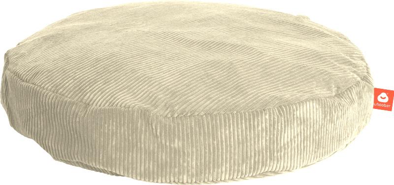 <h2>Comfortabele ronde zitzak in crème ribcord die in Nederland door Whoober wordt geproduceerd. Gratis verzending en 1 jaar garantie!</h2><h2>Belangrijkste eigenschappen vande Ibiza Medium</h2><ul><li>Ook voor de zakelijke markt dankzij wasbare buitenho
