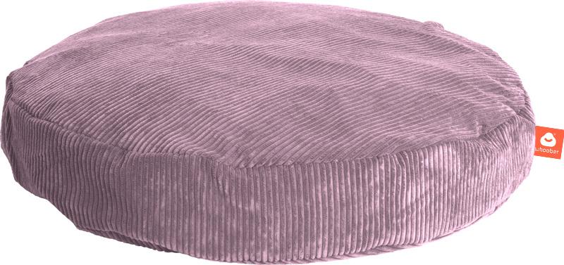 <h2>Comfortabele ronde zitzak in paarse ribcord die in Nederland door Whoober wordt geproduceerd. Gratis verzending en 1 jaar garantie!</h2><h2>Belangrijkste eigenschappen vande Ibiza Medium</h2><ul><li>Ook voor de zakelijke markt dankzij wasbare buitenh