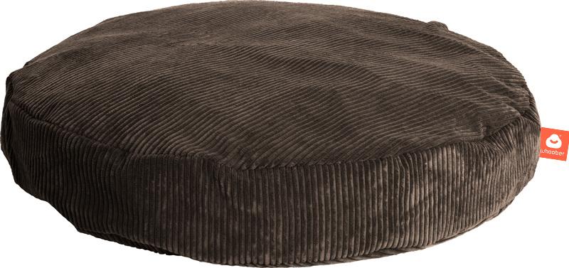 <h2>Comfortabele ronde zitzak in taupe ribcord die in Nederland door Whoober wordt geproduceerd. Gratis verzending en 1 jaar garantie!</h2><h2>Belangrijkste eigenschappen vande Ibiza Medium</h2><ul><li>Ook voor de zakelijke markt dankzij wasbare buitenho
