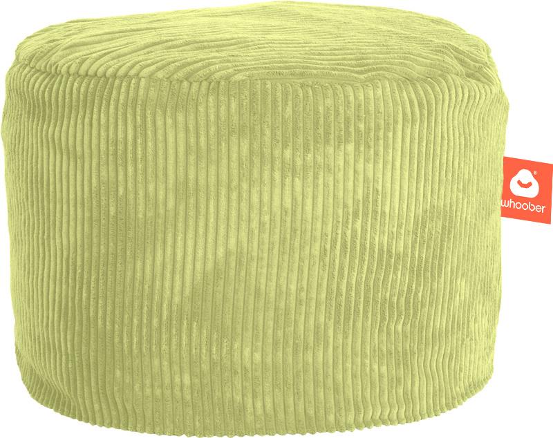 <h2>Comfortabele &amp; multifunctionele poef in pistache ribcord die in Nederland door Whoober wordt geproduceerd. Gratis verzending en 1 jaar garantie!</h2><h2>Belangrijkste eigenschappen van&nbsp;de Rhodos</h2><ul><li>Ook voor de zakelijke markt dankzij