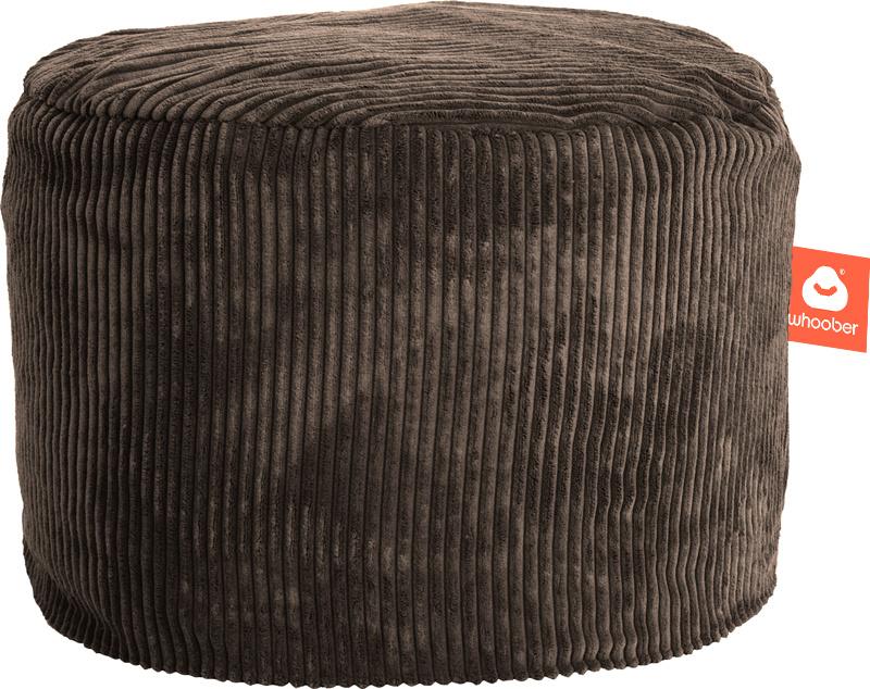 <h2>Comfortabele &amp; multifunctionele poef in taupe ribcord die in Nederland door Whoober wordt geproduceerd. Gratis verzending en 1 jaar garantie!</h2><h2>Belangrijkste eigenschappen van&nbsp;de Rhodos</h2><ul><li>Ook voor de zakelijke markt dankzij wa