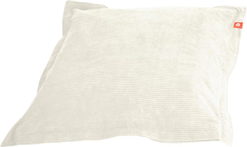 <h2>Comfortabele rechthoekige XL-zitzak in witte ribcord die in Nederland door Whoober wordt geproduceerd. Gratis verzending en 1 jaar garantie!</h2><h2>Belangrijkste eigenschappen van&nbsp;de St. Tropez XL</h2><ul><li>Ook voor de zakelijke markt dankzij