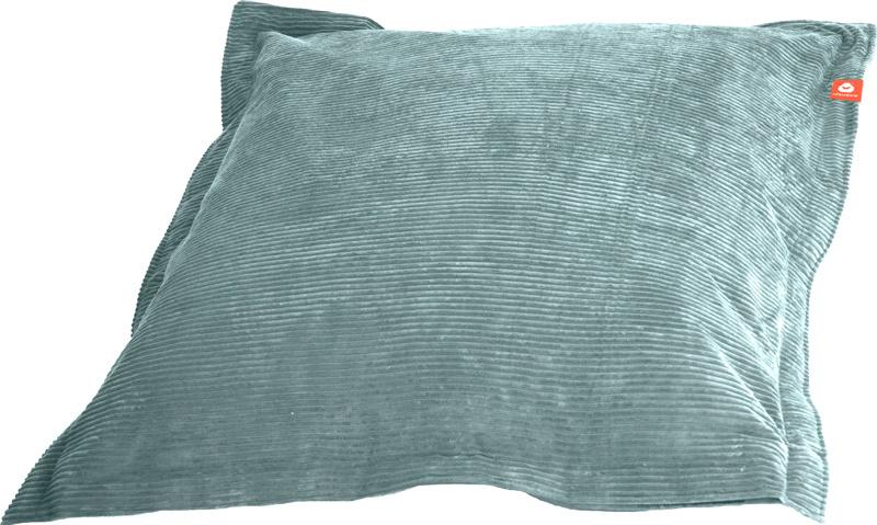 <h2>Comfortabele rechthoekige XL-zitzak in aqua blauwe ribcord die in Nederland door Whoober wordt geproduceerd. Gratis verzending en 1 jaar garantie!</h2><h2>Belangrijkste eigenschappen van&nbsp;de St. Tropez XL</h2><ul><li>Ook voor de zakelijke markt da