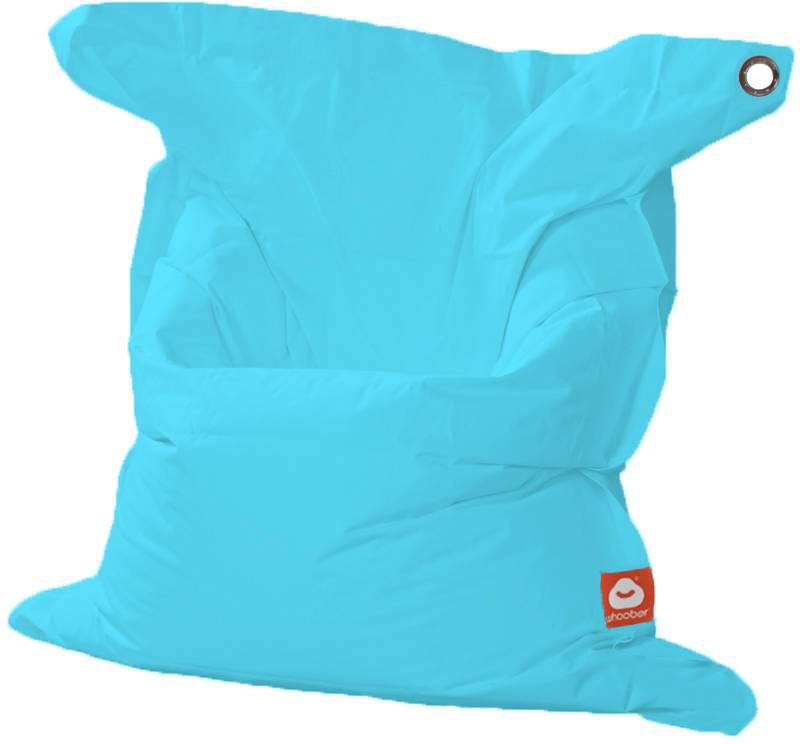 <h3>Comfortabele aqua blauwe rechthoekige XL-zitzak van Whoober-outdoor kwaliteit die in Nederland door Whoober wordt geproduceerd. Gratis verzending en binnen enkele werkdagen in huis!</h3><h2>Belangrijkste eigenschappen vande St. Tropez XL</h2><ul><li>