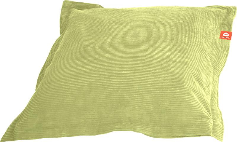 <h2>Comfortabele rechthoekige zitzak in pistache ribcord die in Nederland door Whoober wordt geproduceerd. Gratis verzending en 1 jaar garantie!</h2><h2>Belangrijkste eigenschappen van&nbsp;de St. Tropez Medium</h2><ul><li>Ook voor de zakelijke markt dank