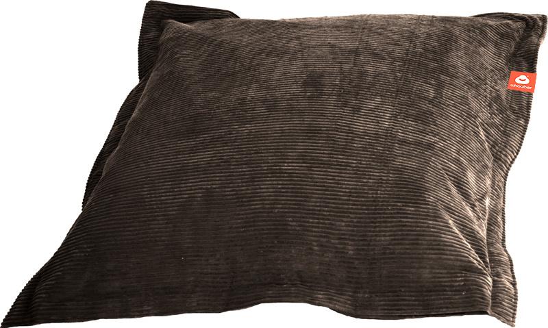 <h2>Comfortabele rechthoekige zitzak in taupe ribcord die in Nederland door Whoober wordt geproduceerd. Gratis verzending en 1 jaar garantie!</h2><h2>Belangrijkste eigenschappen van&nbsp;de St. Tropez Medium</h2><ul><li>Ook voor de zakelijke markt dankzij