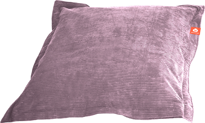 <h2>Comfortabele rechthoekige zitzak in paarse ribcord die in Nederland door Whoober wordt geproduceerd. Gratis verzending en 1 jaar garantie!</h2><h2>Belangrijkste eigenschappen van&nbsp;de St. Tropez Medium</h2><ul><li>Ook voor de zakelijke markt dankzi