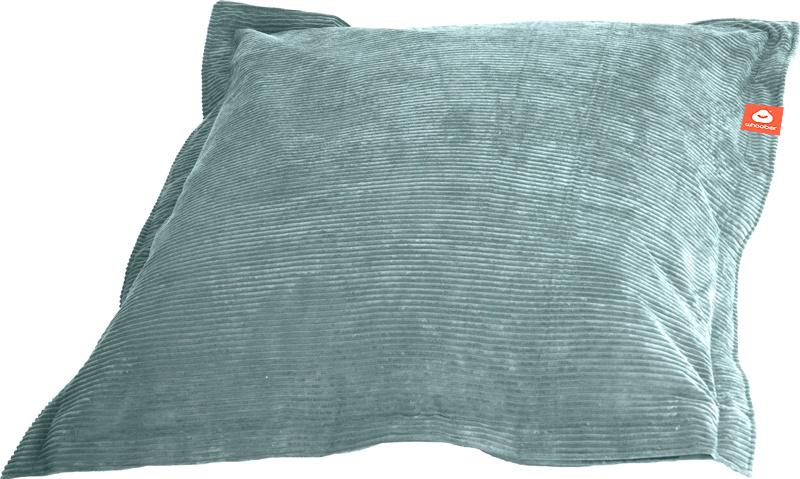 <h2>Comfortabele rechthoekige zitzak in aqua blauwe ribcord die in Nederland door Whoober wordt geproduceerd. Gratis verzending en 1 jaar garantie!</h2><h2>Belangrijkste eigenschappen van&nbsp;de St. Tropez Medium</h2><ul><li>Ook voor de zakelijke markt d