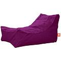 """Whoober Whoober Lounge stoel zitzak """"Bali"""" outdoor paars - Wasbaar - Geschikt voor buiten"""