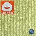 """Whoober Whoober Ronde Zitzak """"Ibiza"""" L ribcord pistache - Wasbaar - Zacht en comfortabel"""