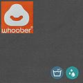 """Whoober Whoober Ronde Zitzak """"Ibiza"""" L outdoor antraciet - Wasbaar - Geschikt voor buiten"""