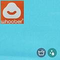 """Whoober Whoober Zitzak poef """"Rhodos"""" outdoor aqua blauw - Wasbaar - Geschikt voor buiten"""