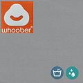 """Whoober Whoober Ronde Zitzak """"Ibiza"""" L outdoor grijs - Wasbaar - Geschikt voor buiten"""