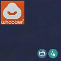 """Whoober Whoober Ronde Zitzak """"Ibiza"""" M outdoor marine blauw - Wasbaar - Geschikt voor buiten"""