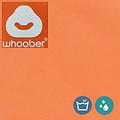 """Whoober Whoober Ronde Zitzak """"Ibiza"""" L outdoor oranje - Wasbaar - Geschikt voor buiten"""